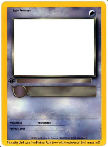 Pokmon aaah make your own pokmon card maxwellsz